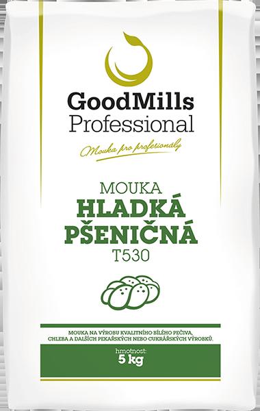 Pšeničná mouka hladká T530 - GoodMills Professional