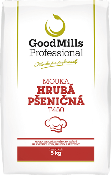 Pšeničná mouka hrubá T450 - GoodMills Professional