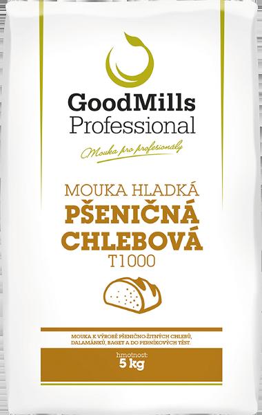 Pšeničná mouka hladká chlebová T1000 - GoodMills Professional